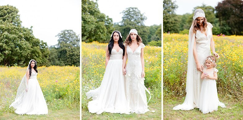 The Bohemian Meadows Wedding Shoot